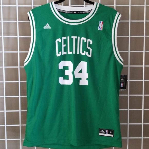 🆕️NWT  ADIDAS  NBA Celtics Paul Pierce  34 Jersey 45f853ba4